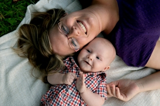 Fisher and I - 3-month Photos
