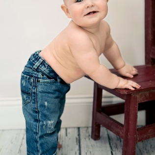 My Big Boy - 9 Month Photos